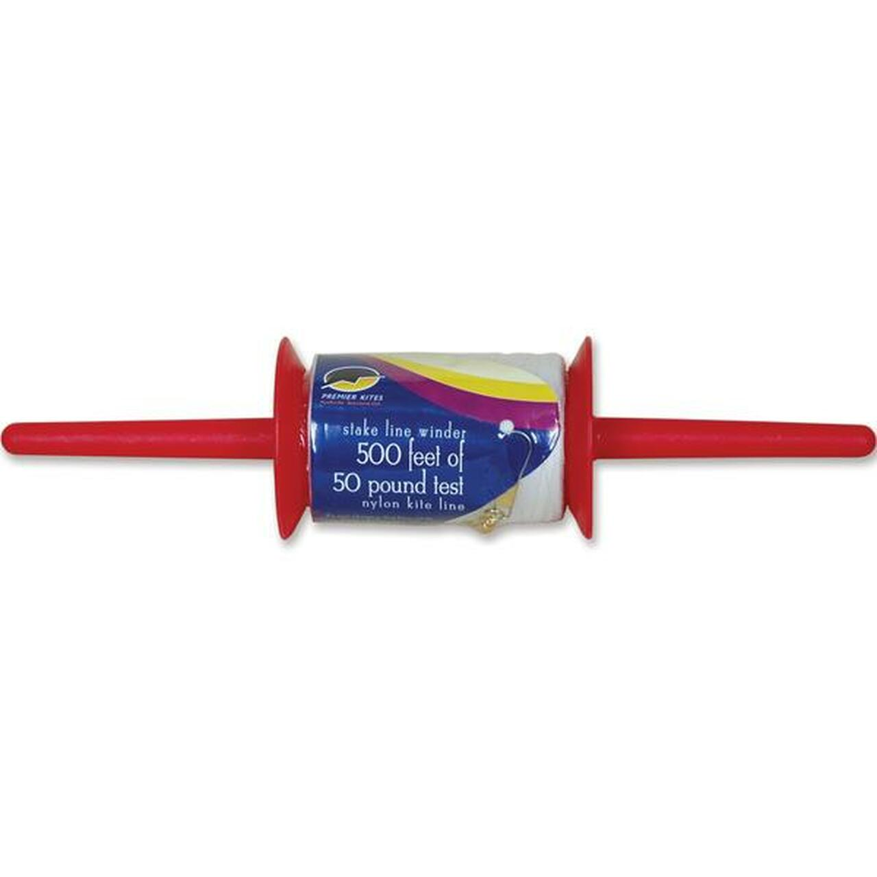 50 lbs x 500ft Kite Line on Stake Winder