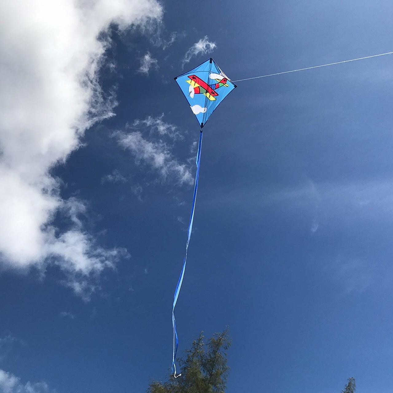"30"" Bi-Plane Diamond Kite"