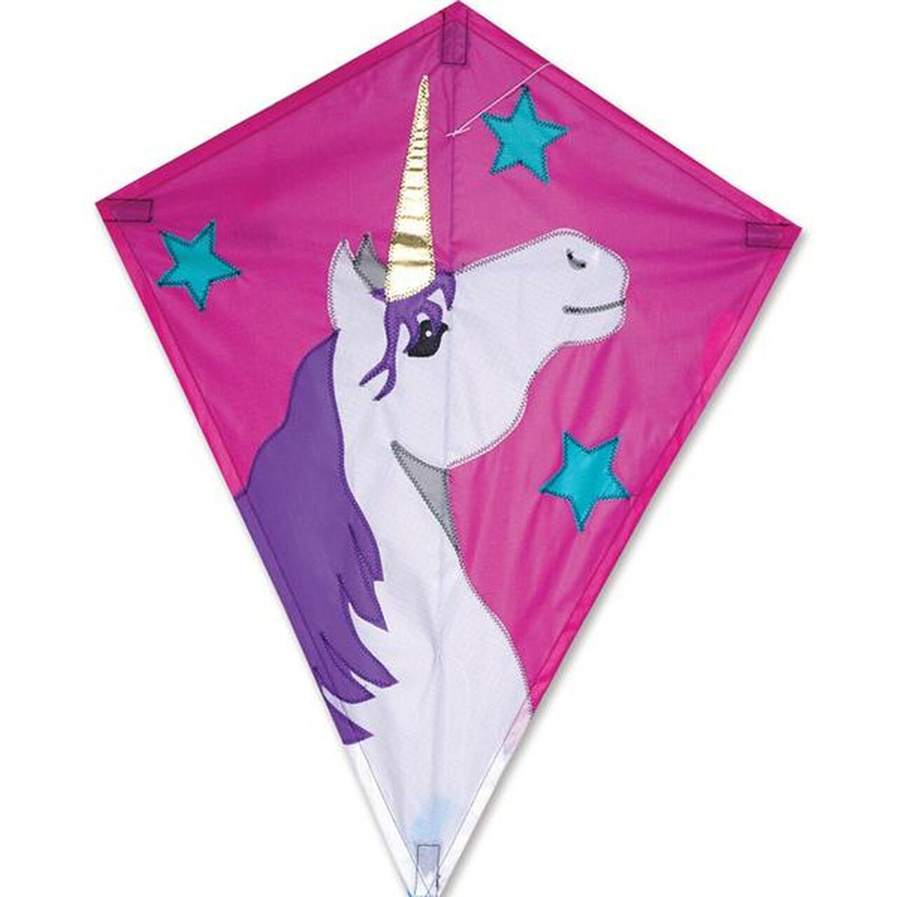 "25"" Lucky Unicorn Diamond Kite"