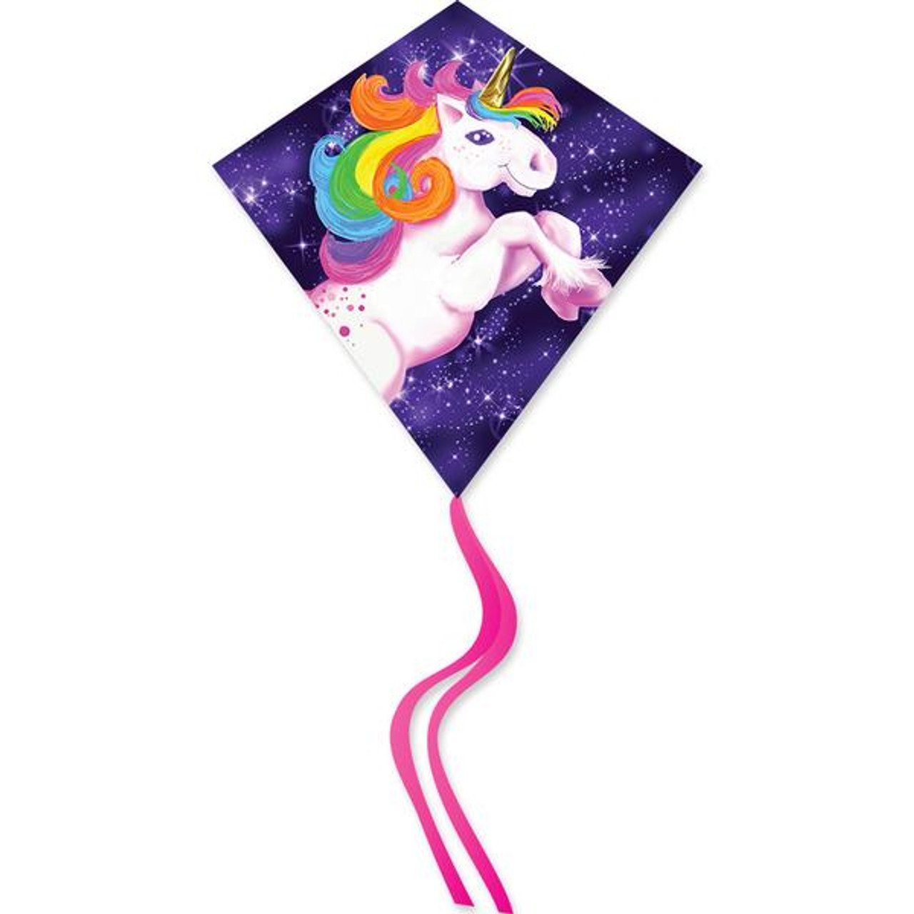 "25"" Unicorn Diamond Kite"