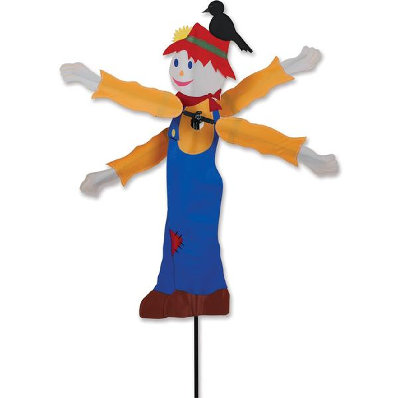 29 In. Scarecrow Whirligig