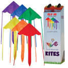"(24 Pack) 43"" Multi-Colored Fly-Hi Kites"