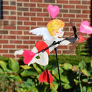 18 In. Cupid Whirligig - Valentine's Day