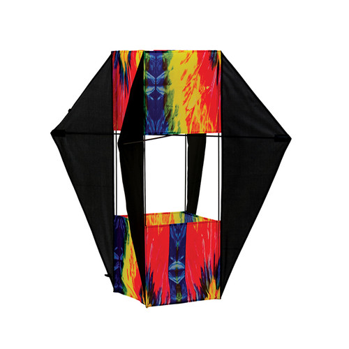 "32"" Tie Dye Winged Box Kite"