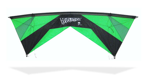 Revolution EXP kite with Reflex - Green/Black
