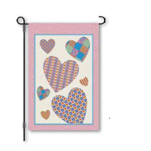 """12"""" Amore - Valentines Day Flag"""