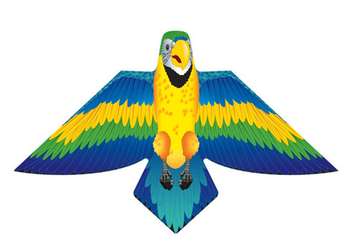 "54"" Blue Macaw Kite"