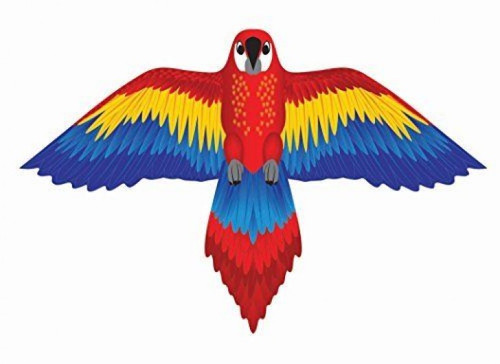 """70"""" SuperWings Red Macaw Kite"""