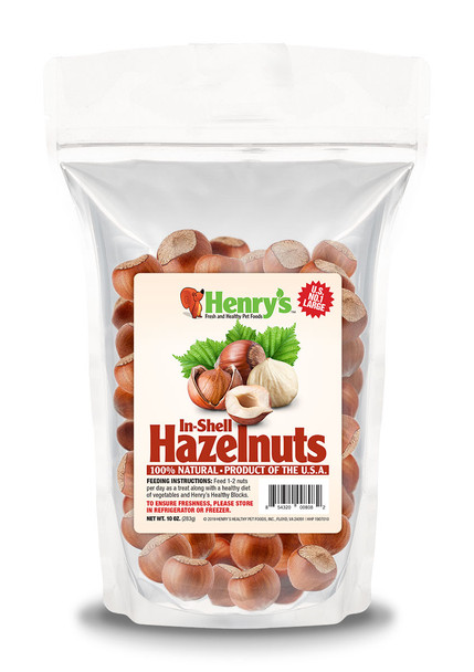 Fresh Hazelnuts in the Shell