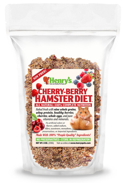 Henry's Healthy Cherry Berry Hamster Diet