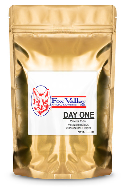 Fox Valley Day-One Formula 25/30 for Opossums