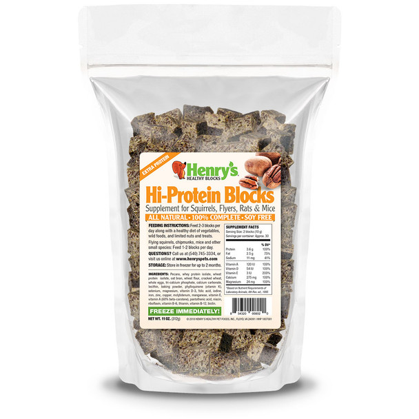 Henry's Healthy Hi-Protein blocks