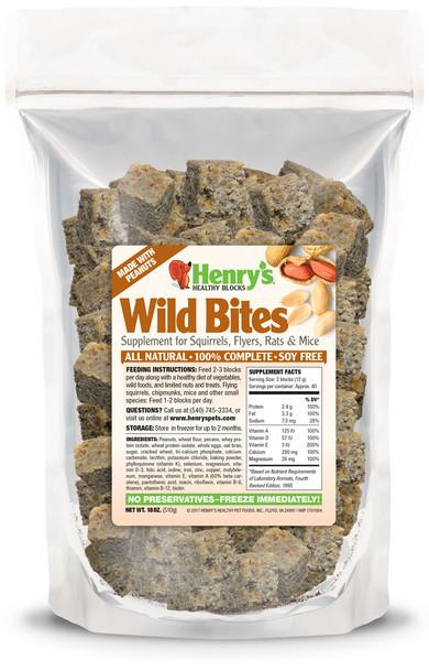 Henry's Wild Bites - 18 oz