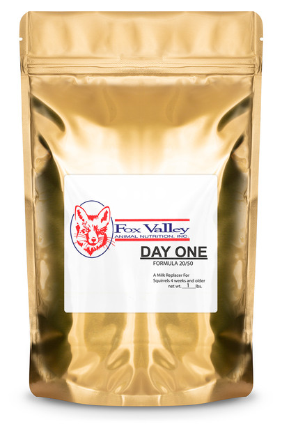 Fox Valley Day-One Formula 20/50 for Baby Squirrels