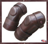 Three Straps Velcro Knee Guards