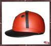Custom All leather Classic Argentinian Style Polo Helmet