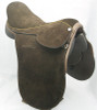 Argentine  Style  Full Suede Polo Saddle