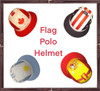 Flag Polo Helmet