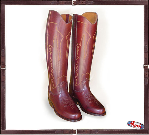 Premier Texan Style Polo Boot HB color