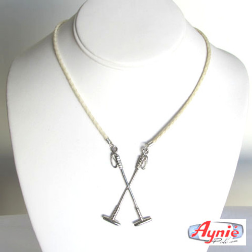 Silver Cross Polo Mallets