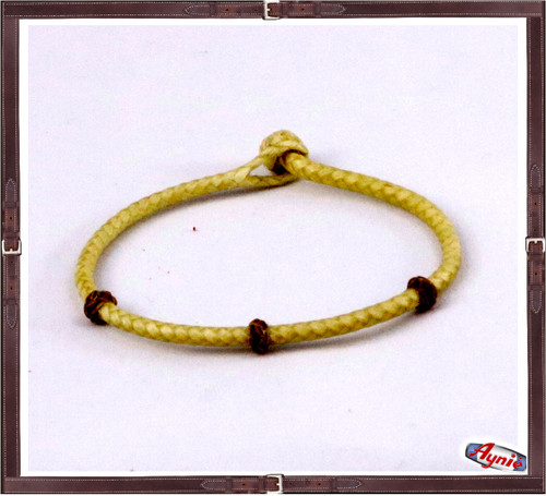 Braided Rawhide With Three Dots