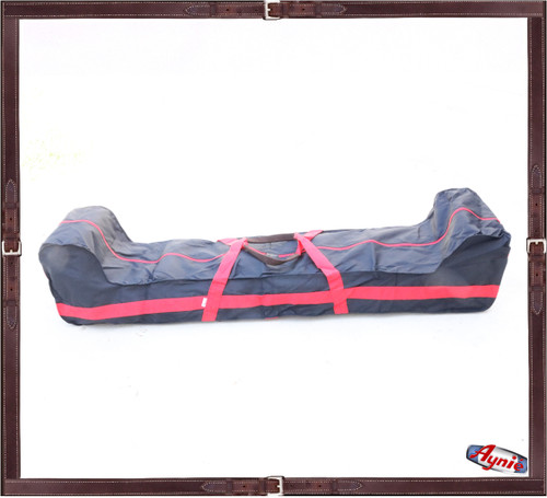Mallet Carrying Bag. Red strap - Nylon