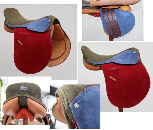 "American Style Polo Saddle Size 18"""