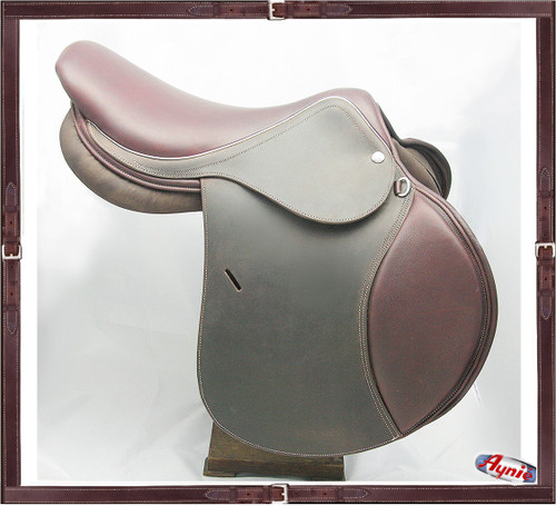 Jumping Saddle  &  Pleasure Ride Non Slippery Leather