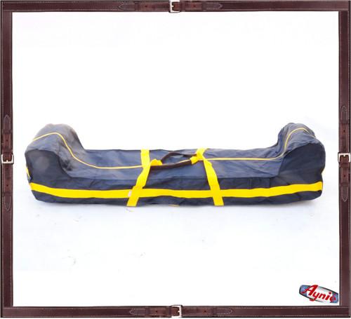 Mallet Carrying Bag. Yellow  strap - Nylon