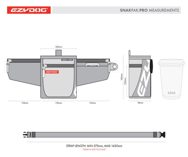 SnakPak Pro Training Treat Bag