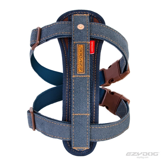 Denim EzyDog Harness