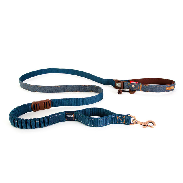 Road Runner Leash Denim