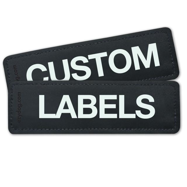 Custom Labels (Set of 2)