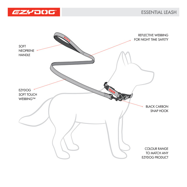 EzyDog Essential Leash