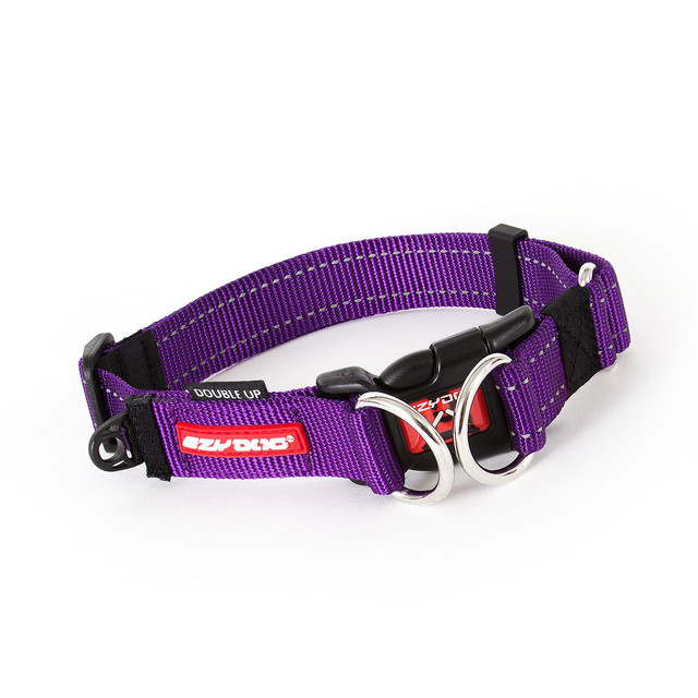 Double Up Collar - Purple
