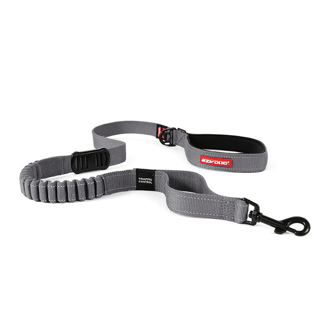 Zero Shock Leash 48 - Grey