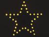 Velleman FLASHING YELLOW LED STAR