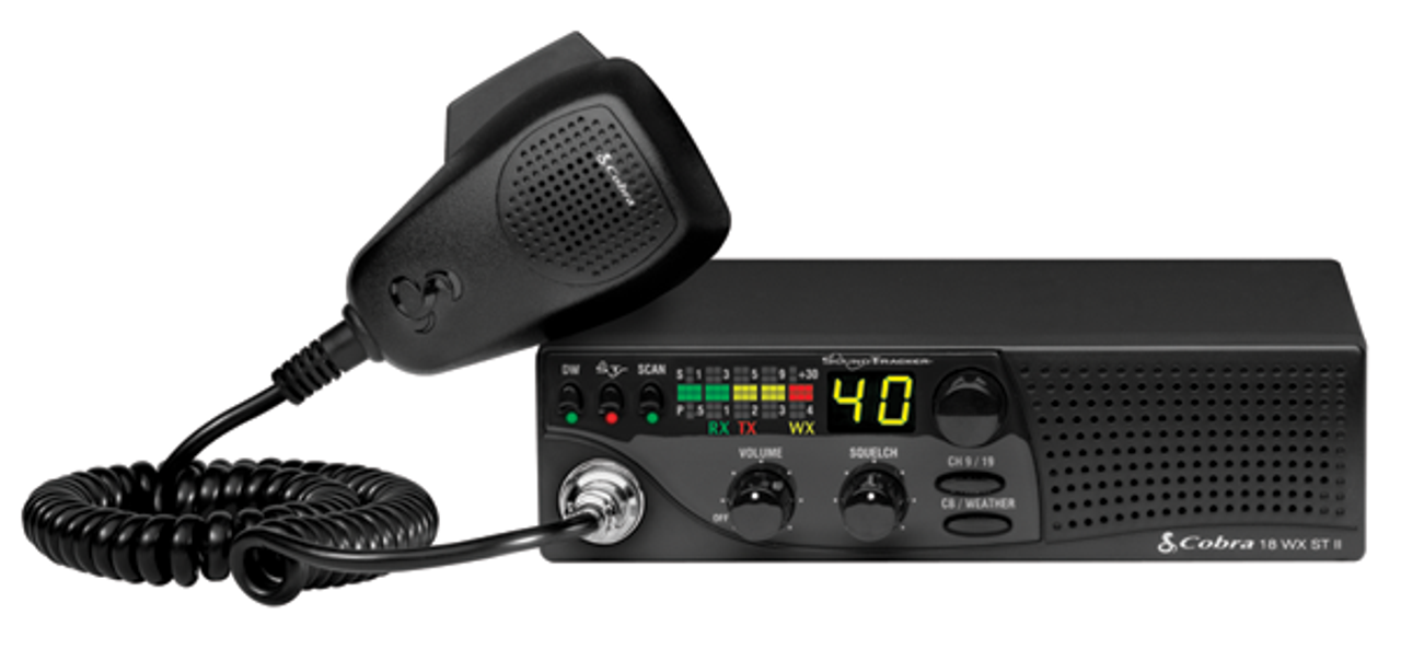 29 LTD CHR Chrome Special Edition 40 Channel CB Radio Fixed-mount ...