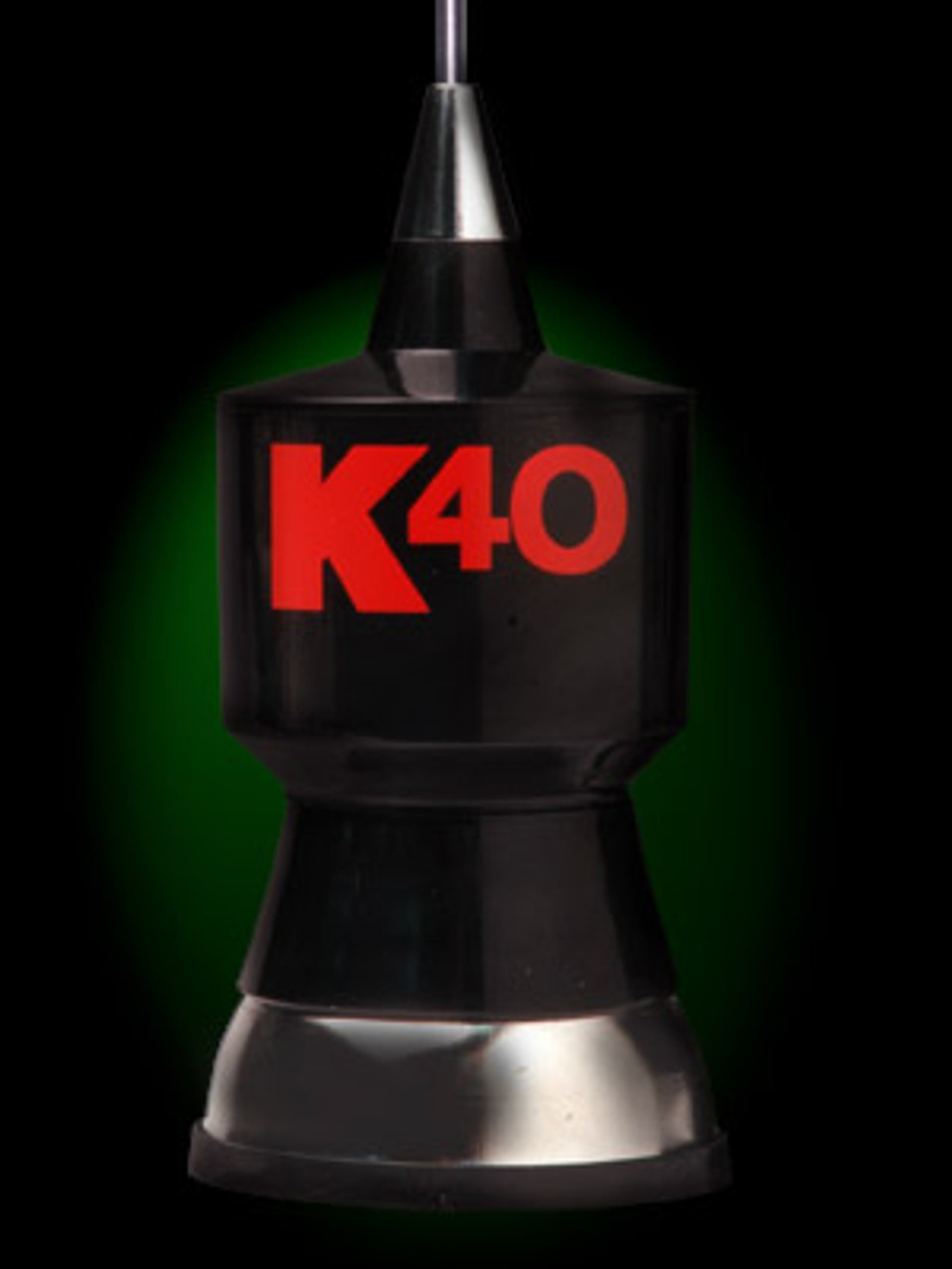 """K-40 Antenna Trunk Lip Mount with 57.25"""" Whip"""