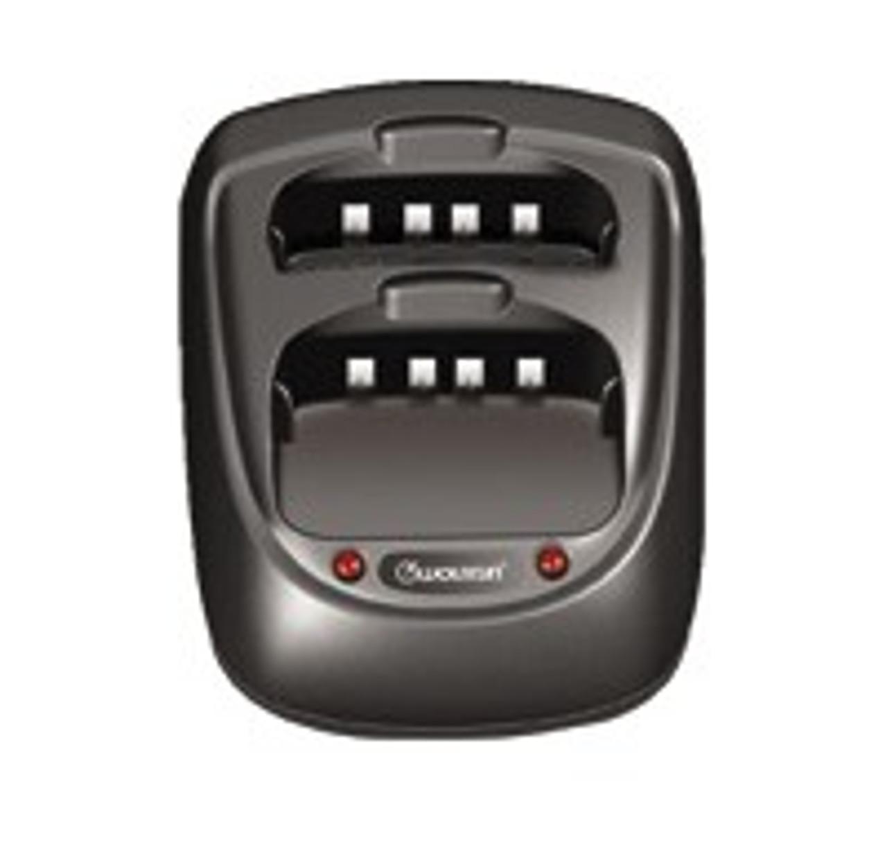 Wouxun Dual Slot Drop Charger - KG-UVD1P and KG-UV6D