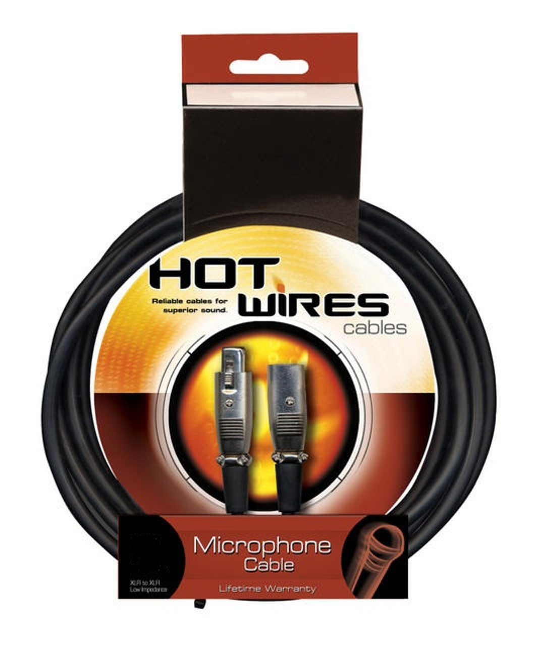 On Stage Hot Wires HW MC12-10 Mic Cable