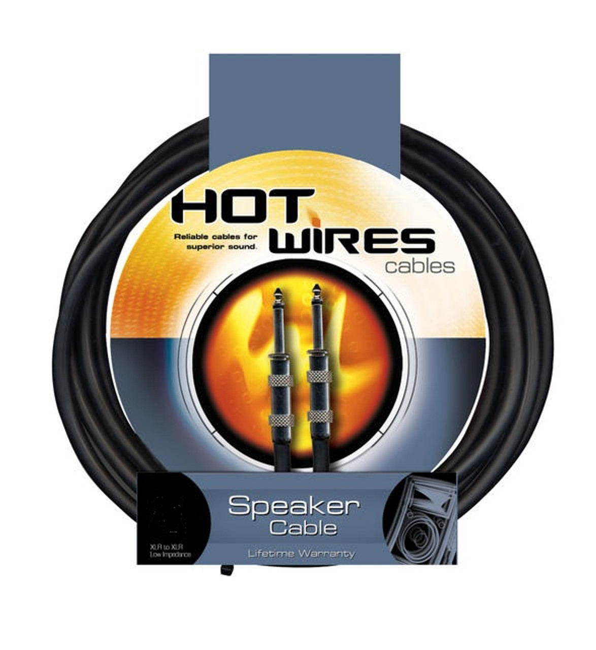Hot Wires QTR to QTR Speaker Cable - 10 Feet