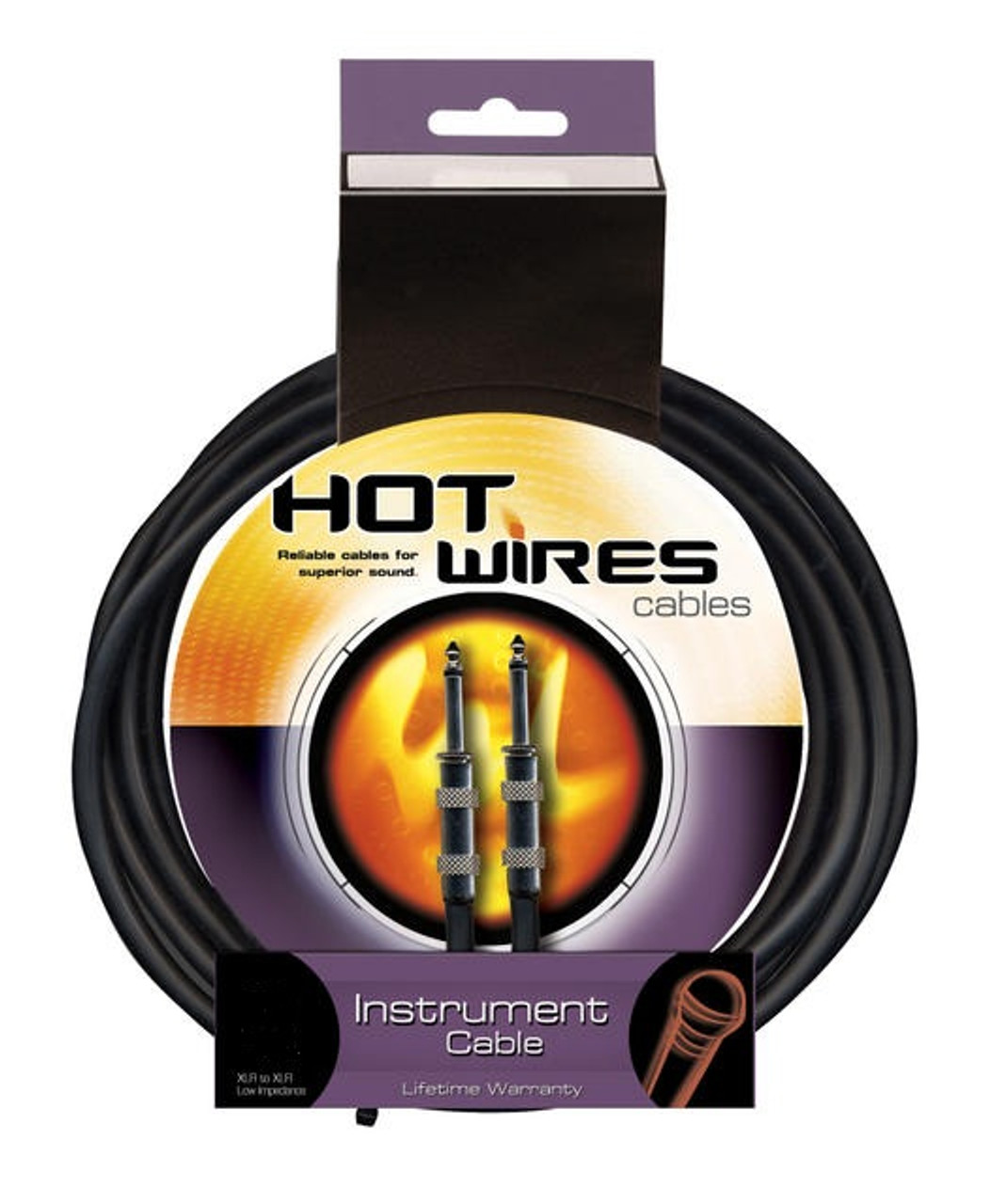 Hot Wires QTR to QTR Instrument Cable - 20 Feet
