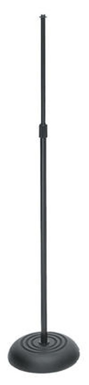 On-Stage MS7201B Round Base Mic Stand - Black