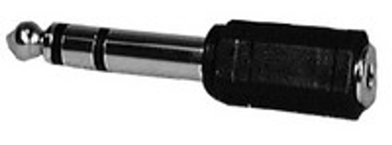 """1/4"""" Stereo Plug to 3.5mm Stereo Jack Adapter"""