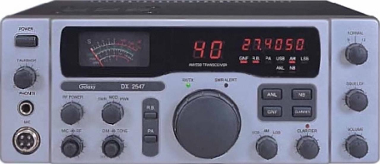 Galaxy DX-2547 AM/SSB CB Base Station