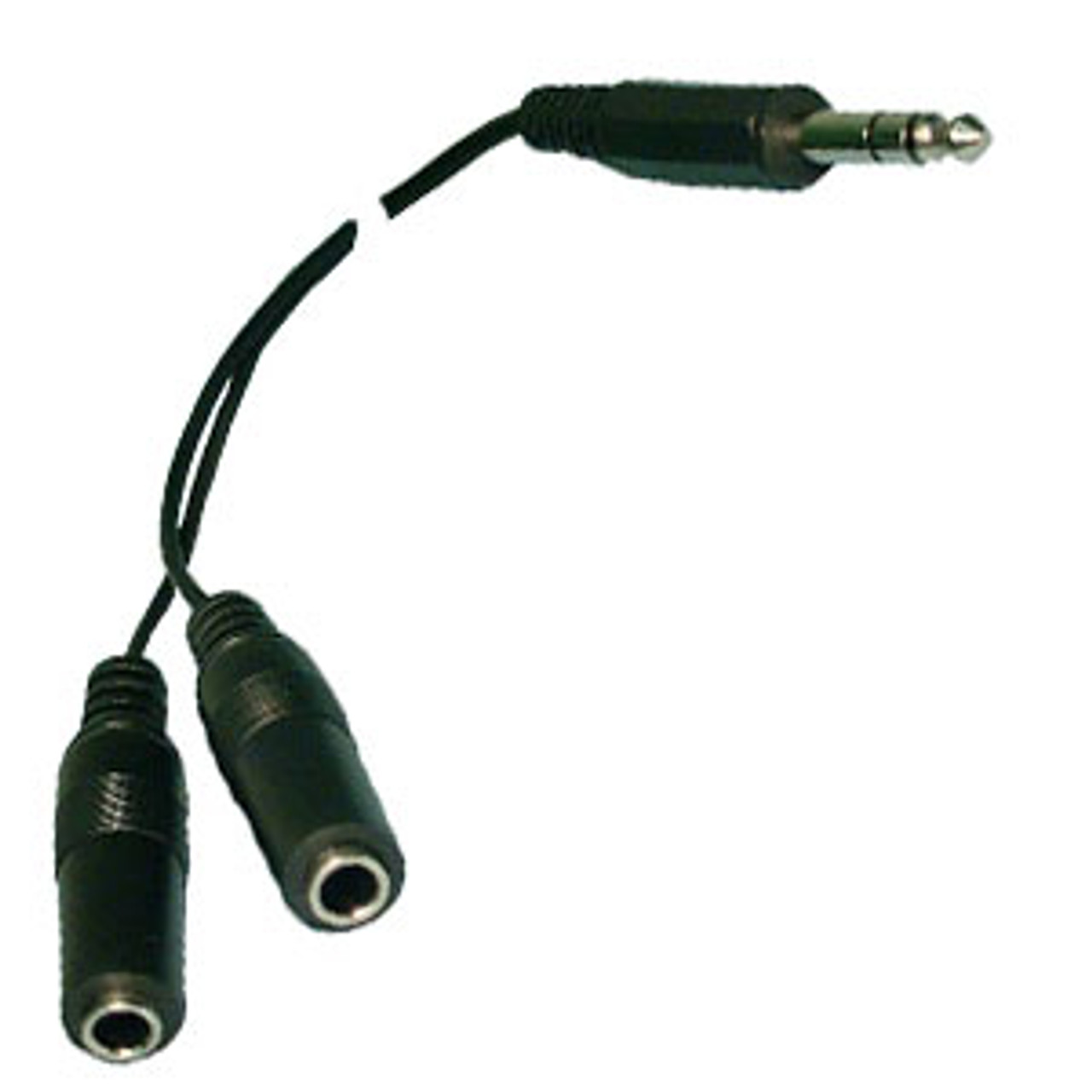"1/4"" Stereo Shielded Y Adapter"