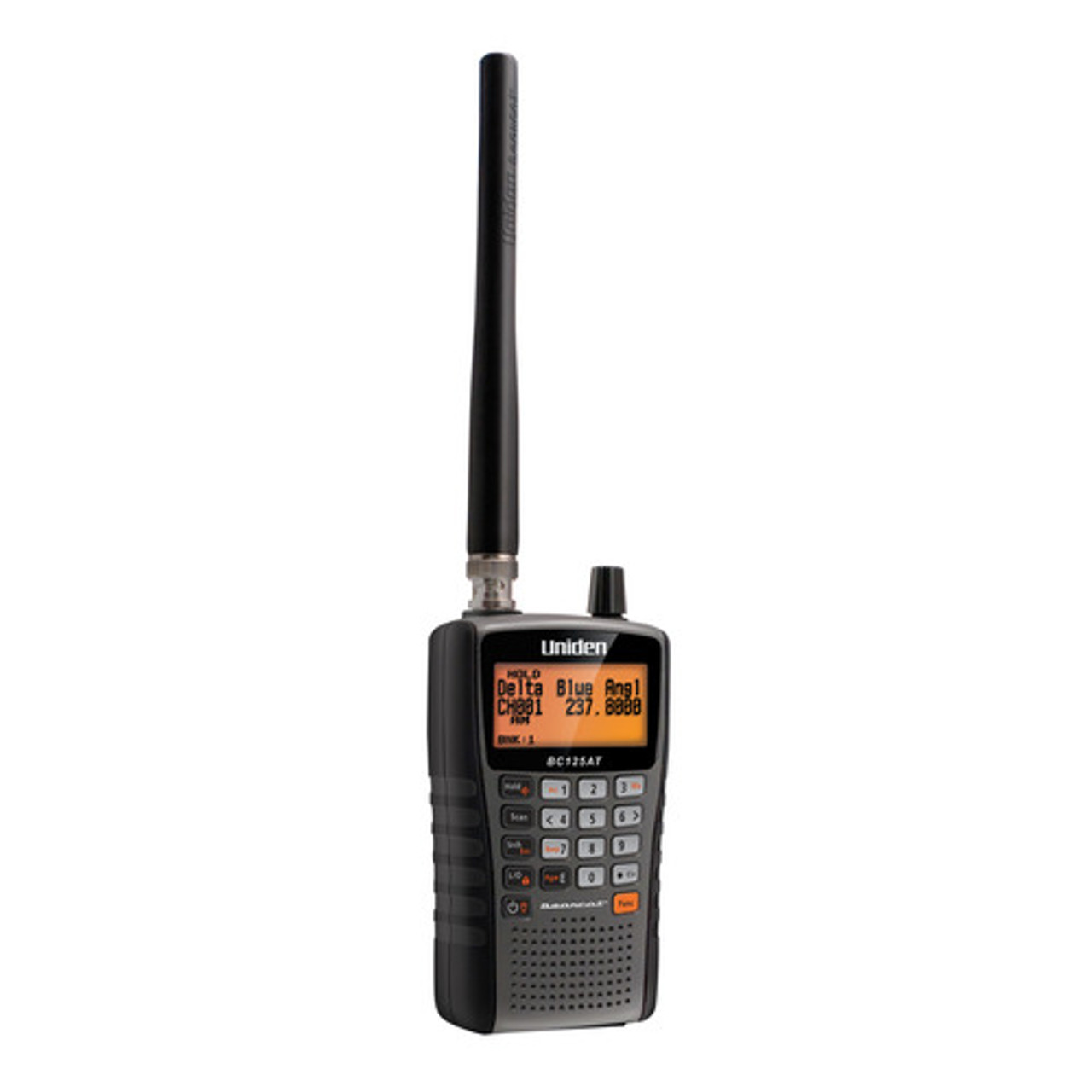 Uniden BC125AT - 500 Alpha Tagged Channel Handheld Scanner - OUT OF STOCK