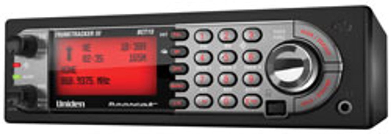 Uniden BCT15X Mobile BearTracker™ Scanner with 9,000 Channels and GPS Support