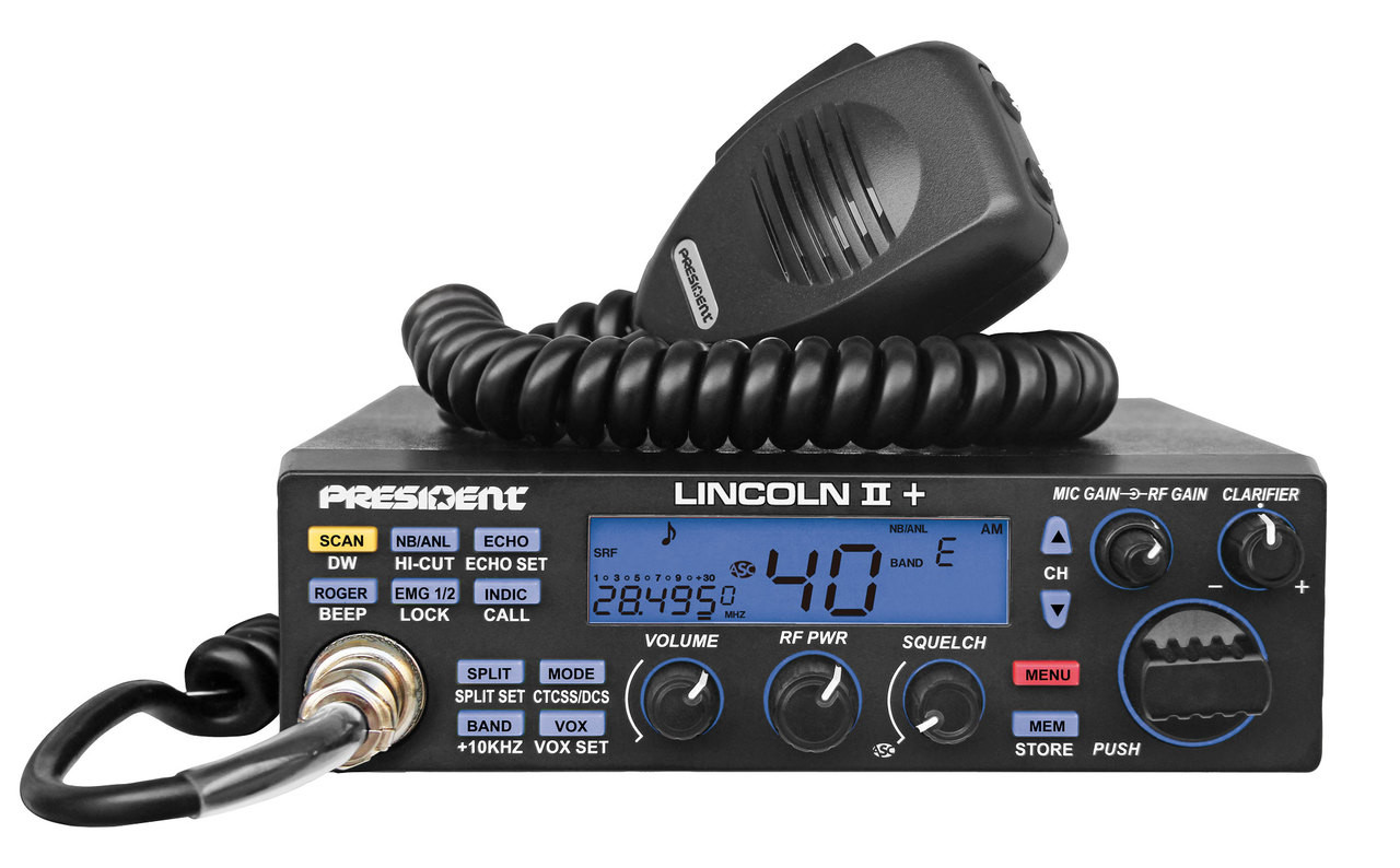 President LINCOLN II Plus  - New 10/12 Meter All Mode - OUT OF STOCK